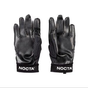 NWT Nike x Drake NOCTA Black Football Gloves, XXL